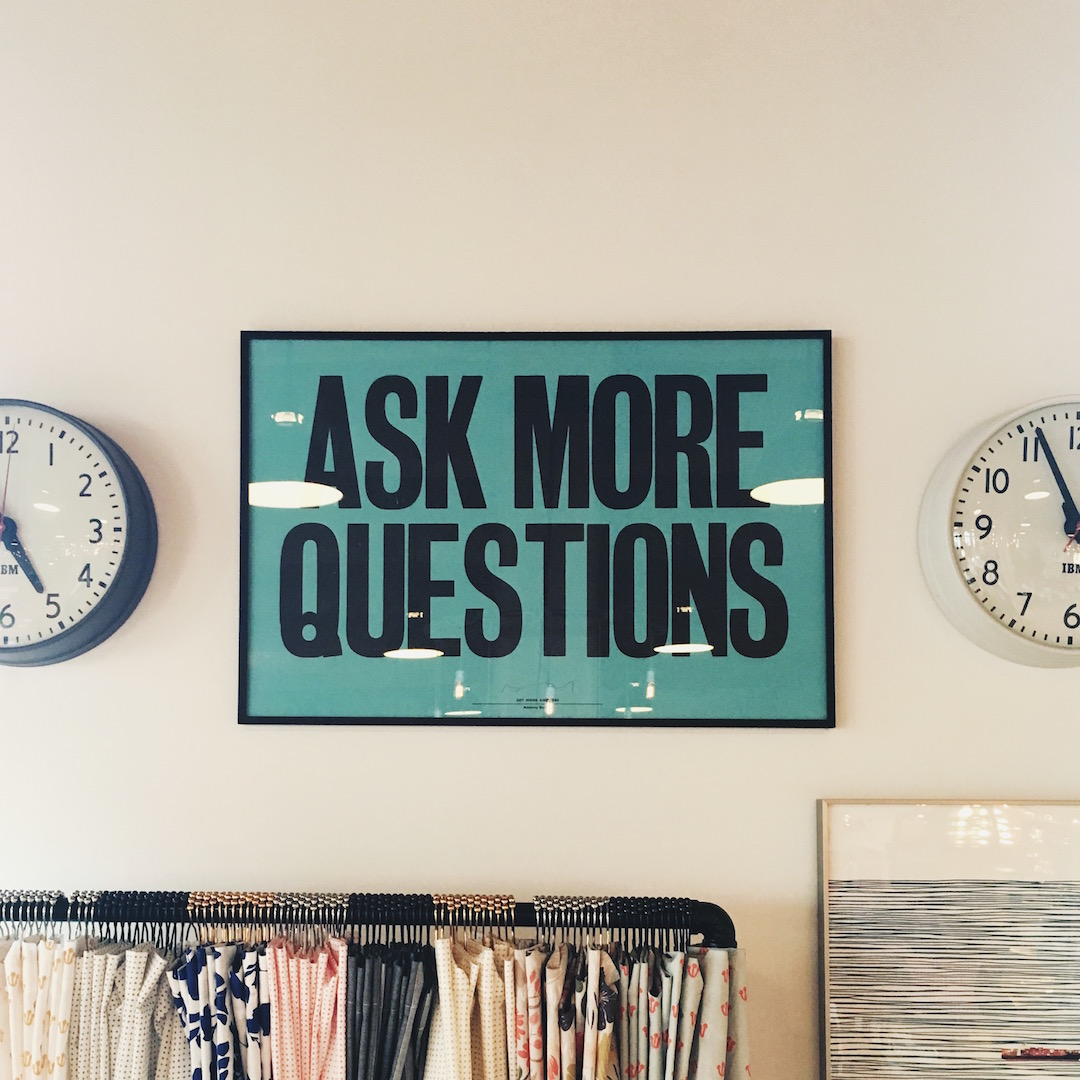 how to interview: ask more questions