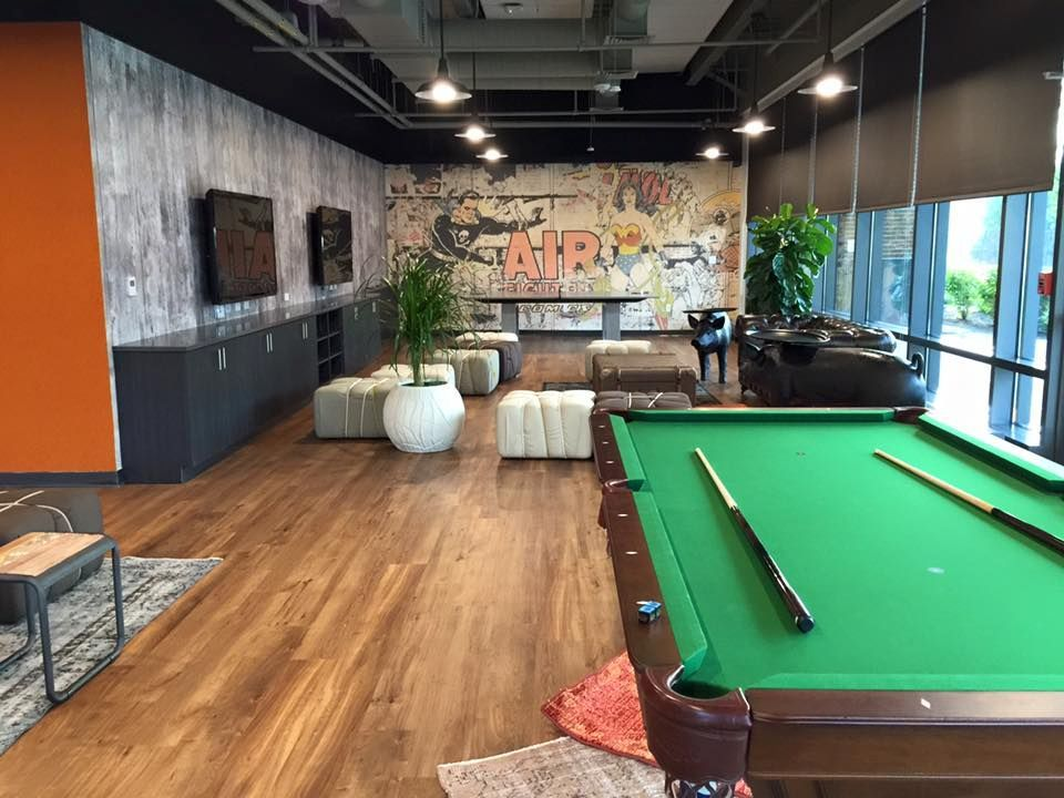 TripAdvisor's Boston HQ boasts an impressive game room.