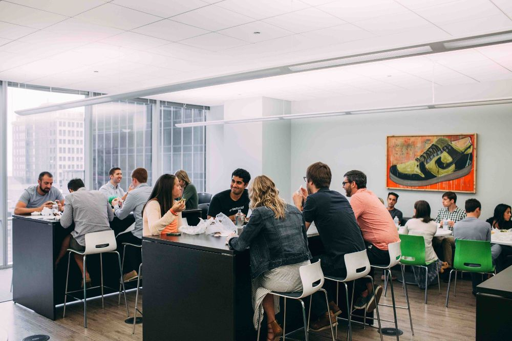 hiring strategy includes happy employees