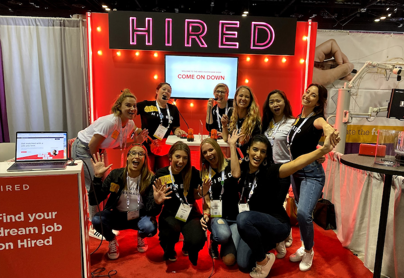 hired-celebrates-women-in-tech-at-grace-hopper-celebration-2019