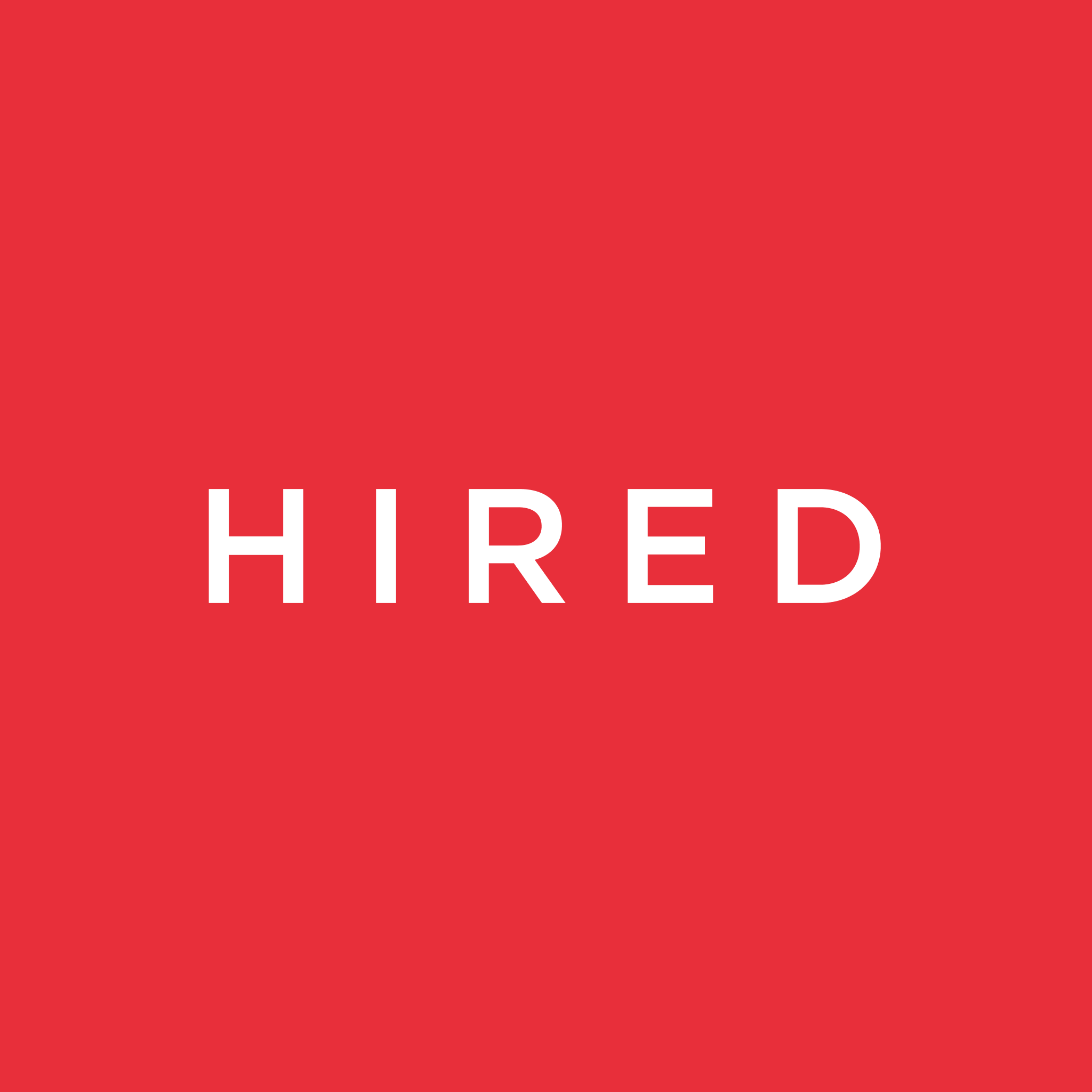 by Hired